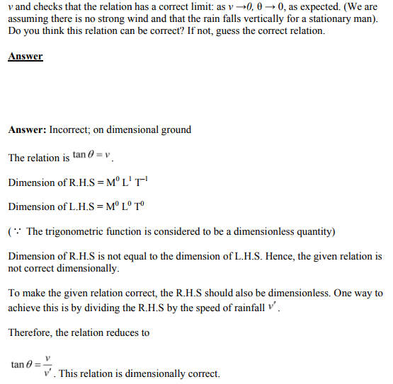 Physics Numericals Class 11  Chapter 2 55
