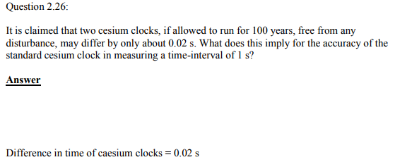 Physics Numericals Class 11  Chapter 2 56