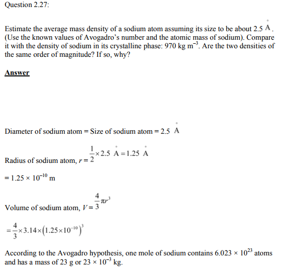 Physics Numericals Class 11  Chapter 2 58