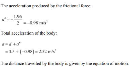 Physics Numericals Class 11 Chapter 6 5