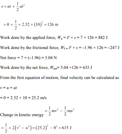 Physics Numericals Class 11 Chapter 6 6