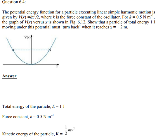 Physics Numericals Class 11 Chapter 6 11