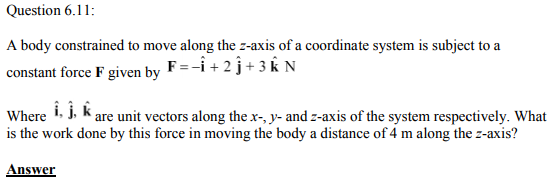 Physics Numericals Class 11 Chapter 6 34