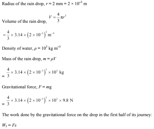 Physics Numericals Class 11 Chapter 6 42