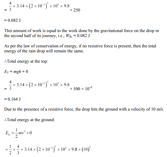 Physics Numericals Class 11 Chapter 6 43