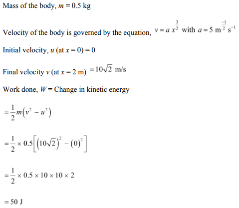 Physics Numericals Class 11 Chapter 6 63