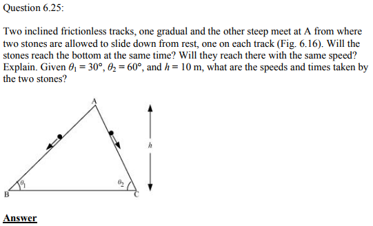 Physics Numericals Class 11 Chapter 6 84