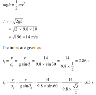 Physics Numericals Class 11 Chapter 6 89