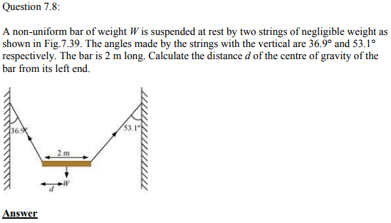 Physics Numericals Class 11 Chapter 7 24