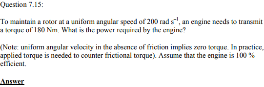 Physics Numericals Class 11 Chapter 7 56