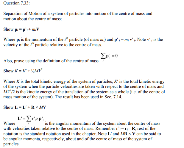 Physics Numericals Class 11 Chapter 7 138