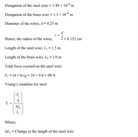 Physics Numericals Class 11 Chapter 9 12