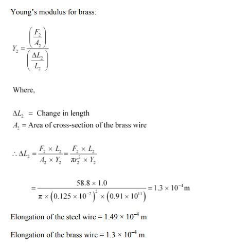 Physics Numericals Class 11 Chapter 9 14