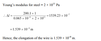 Physics Numericals Class 11 Chapter 9 27