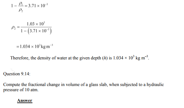 Physics Numericals Class 11 Chapter 9 35