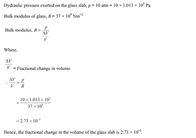 Physics Numericals Class 11 Chapter 9 36