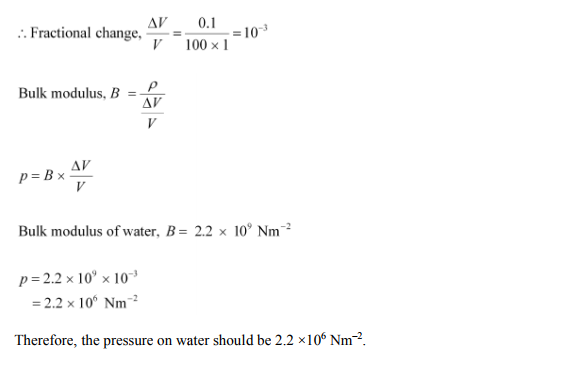 Physics Numericals Class 11 Chapter 9 41