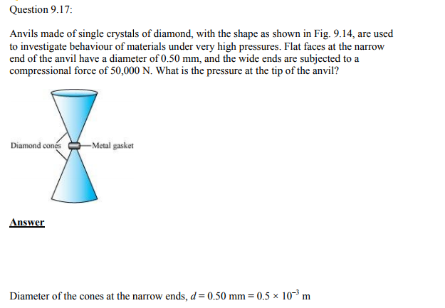 Physics Numericals Class 11 Chapter 9 42