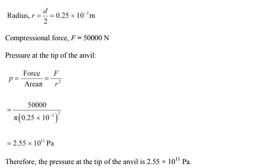 Physics Numericals Class 11 Chapter 9 43