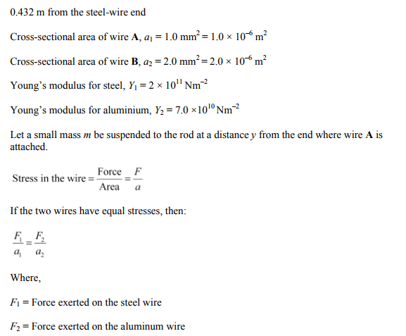Physics Numericals Class 11 Chapter 9 45