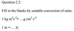 Physics Numericals Class 11  Chapter 2 4