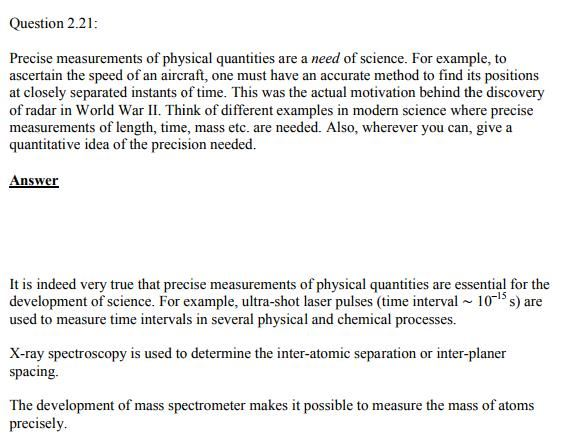 Physics Numericals Class 11  Chapter 2 46