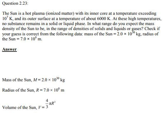 Physics Numericals Class 11  Chapter 2 51
