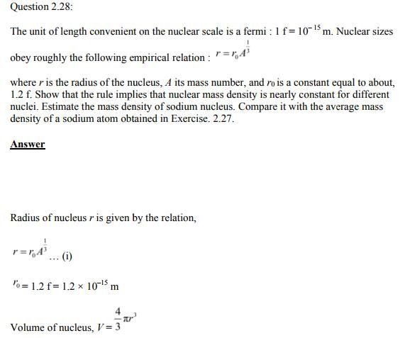 Physics Numericals Class 11  Chapter 2 60