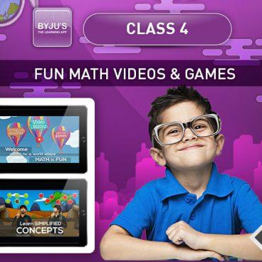 Class 4 – Maths Concepts & Games