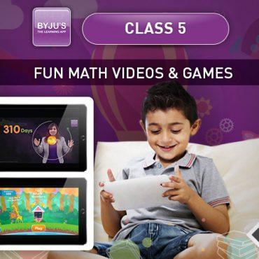 Class 5 – Maths Videos & Games
