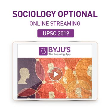 IAS Sociology Optional Online Streaming