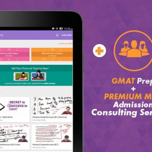 GMAT MBA admissions + Consulting