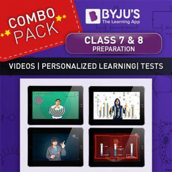 Class 7 + 8 combo offer