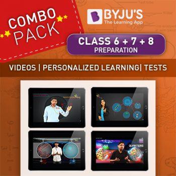 Class 6 + 7 + 8 combo offer