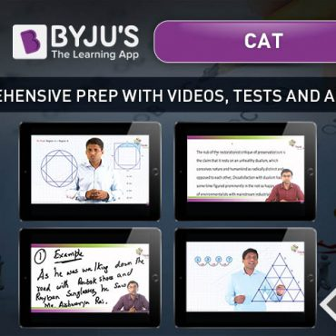 CAT 2018 Course – Tablet + 14 Books – BYJU'S