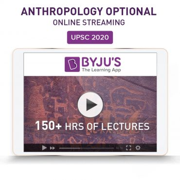 IAS Anthropology Optional Online Streaming