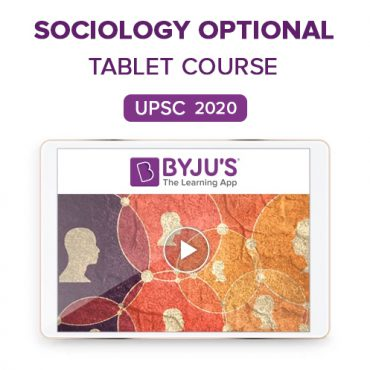 IAS Sociology Optional Tablet Course