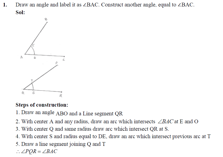 RD Sharma Solutions Class 10 Maths Chapter 11 Constructions Exercise ...