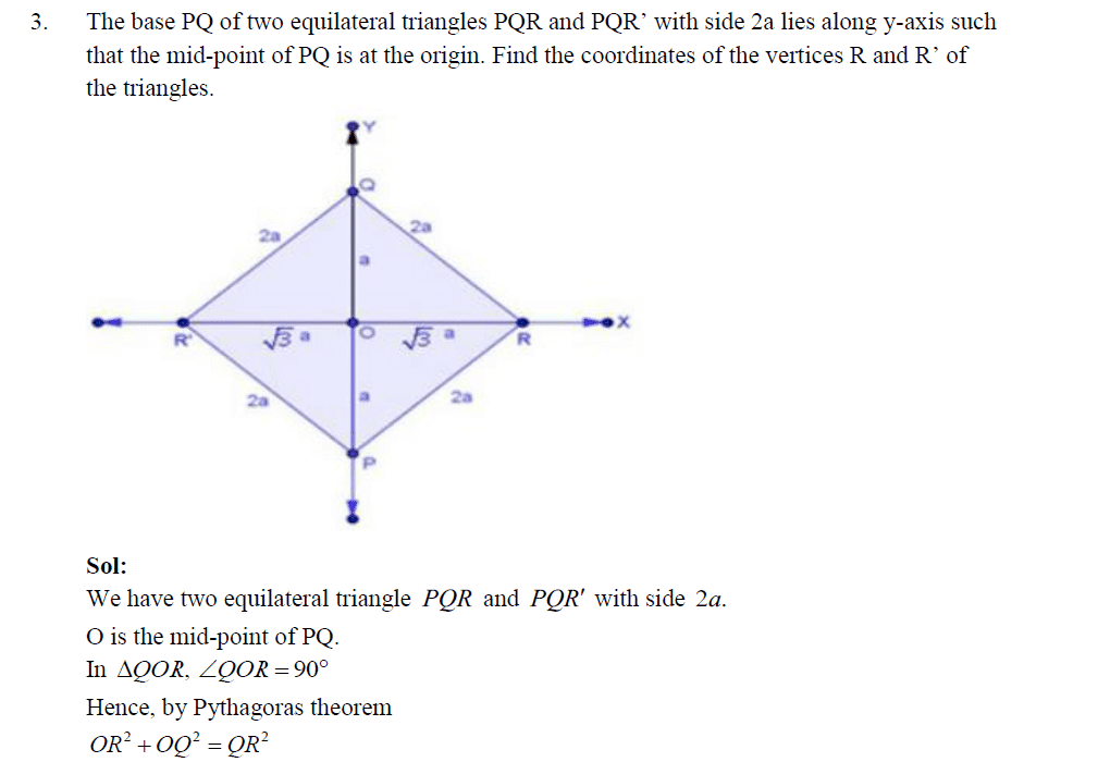 Rd sharma solutions class 10 maths chapter 14 coordinate geometry related links ccuart Images