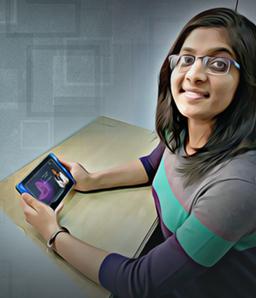 Learning Visually Gives Wings to My Imagination: Navya Jain