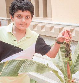 From Science textbooks to space research- Vishruth proves that it is never too early to start dreaming