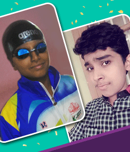 Our Swimming Champions – Rohan Mahesh & Yash Prakash