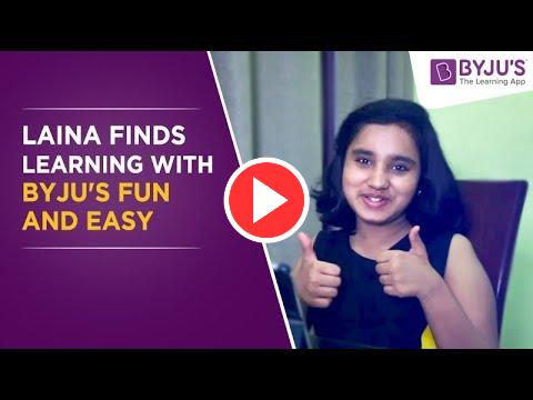 BYJU'S Story - Laina | Class 7 | Delhi (NCR)