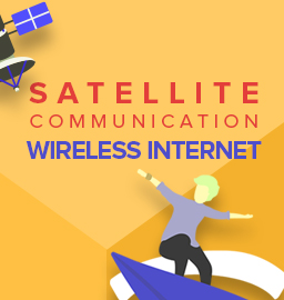 Satellite Communication and Wireless Internet