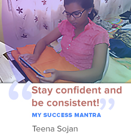 There is no shortcut to Success! – Topper Teena on her journey to scoring 92% in 10th boards