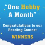 Congratulations to the winners of BYJU'S 'One Hobby A Month' – Reading Contest