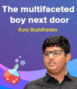 Curiosity for learning keeps Kunj Buddhadev going