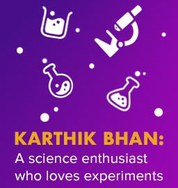 What keeps BYJU'S student Karthik going?