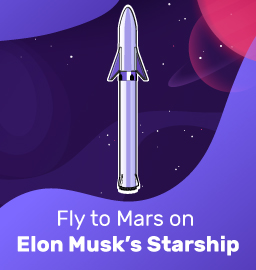 Fly to Mars on Elon Musk's Starship