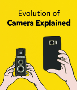 Trace the epic journey of the camera from pinboxes to smartphones
